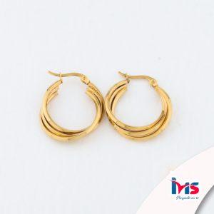arete-argolla-acero-forma-circular-redonda-dorado-triple