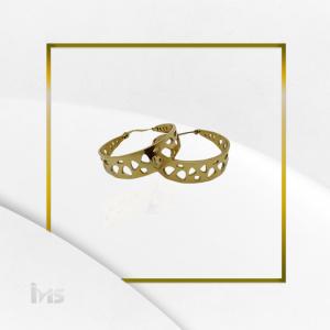 arete argolla grande formas ovalado oro goldfilled dorado