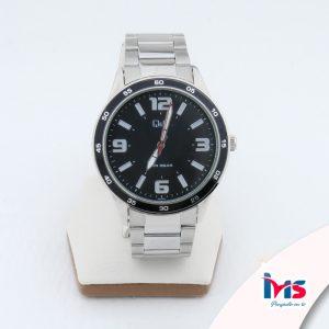 reloj-qyq-original-acero-resistente-al-agua-analogo-negro-plateado-numeros-acero-metal