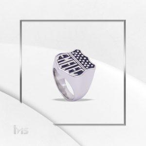 anillo acero plateado emelec hincha anillo grande