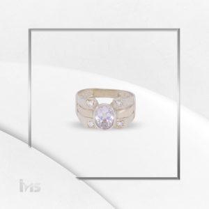 anillo oro plata para hombre ovalado microcircones circon blanco