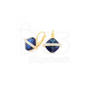 arete-oro-goldfilled-bañado-laminado-semijoya-para-dama-mujer-dorado-plateado-cristales-rombo-azul