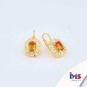 arete-oro-goldfilled-bañado-laminado-semijoya-para-dama-mujer-dorado-plateado-cristales-naranja-amarillo