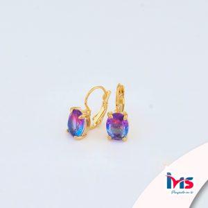 arete-oro-goldfilled-bañado-laminado-semijoya-para-dama-mujer-dorado-plateado-cristales-ovalo-bicolor