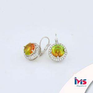 arete-oro-goldfilled-bañado-laminado-semijoya-para-dama-mujer-dorado-plateado-cristales-circular-bicolor