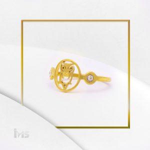 anillo-acero-dorado-fino-para-mujer-lechuza