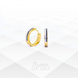 argolla-mediana-acero-dorado-para-mujer-con-micro-zirconias-zirconios-negro-blanco-fino