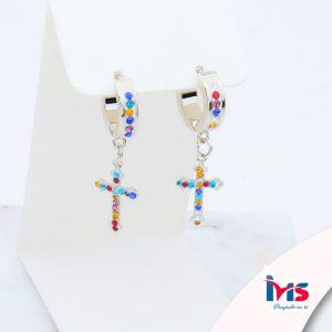 arete-acero-quirúrgico-para-dama-mujer-microcircones-colores-hoops-cruz