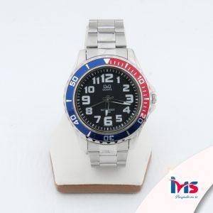 reloj-qyq-original-acero-resistente-al-agua-analogo-bisel-rojo-negro-azul-plateado