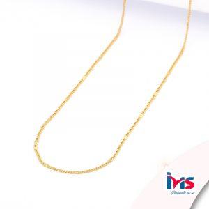 cadena-acero-quirúrgico-hombre-mujer-dorado-tejido-barbado-estampado-45-cm