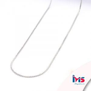 cadena-acero-quirúrgico-hombre-mujer-dorado-tejido-rolo-plata-50-cm