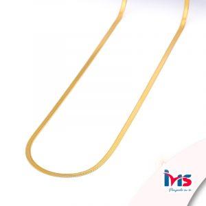 cadena-acero-quirúrgico-hombre-mujer-dorado-tejido-lomo-50-cm