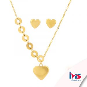 set-juego-cadena-collar-aretes-acero-quirurgico-dorado-set-juego-cadena-collar-aretes-acero-quirurgico-dorado-corazon