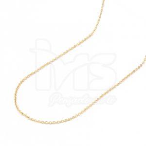cadena-acero-quirúrgico-hombre-mujer-dorado-tejido-eslabon-46-cm