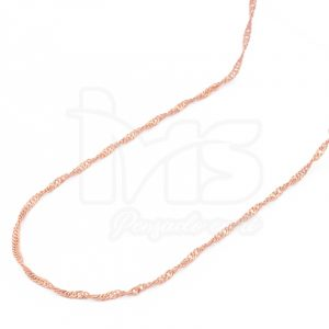 cadena-acero-quirúrgico-hombre-mujer-oro-rosa-tejido-singapur-47-cm