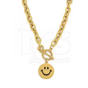 cadena-acero-quirurgico-dorado-dije-carita-feliz