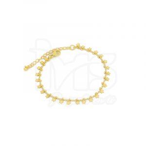 pulsera-para-dama-mujer-dorada-rodio-estrellas